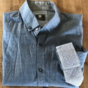 Steel & Jelly Men's Button Down Shirt Large